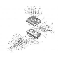 Кольцо резиновое впускного коллектора Тайга
