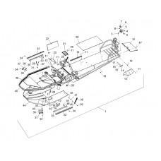 Фаркоп (сцепное устройство) Тайга