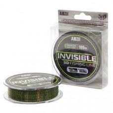 Леска Akkoi Invisible монофильная 3D 30м