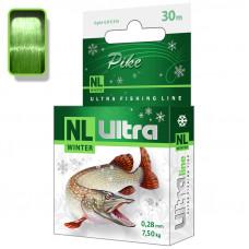 Леска зимняя NL ULTRA PIKE (Щука) 30m
