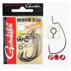 Крючок Gamakatsu Worm 330 №01 (6шт)