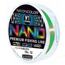 Леска Balsax Nano Neon 100 м (зеленая)