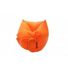 """Кресло-пуф надувной Ламзак """"Мини"""" оранжевый 150 см"""