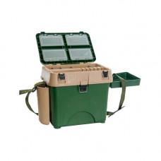 Ящик рыболова A-elita A_box с термометром