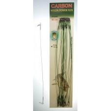 Поводки нейлон Carson (14кг*25см)