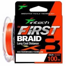 Шнур плетеный Intech First Braid X8 100м