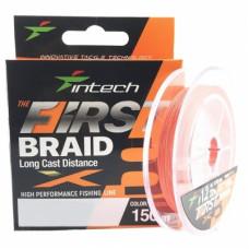 Шнур плетеный Intech First Braid X8 150м