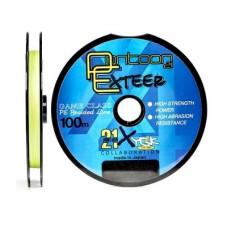 Леска плетеная Pontoon21 Exteer 100м 0.128 мм/8lb, флюор. желтая