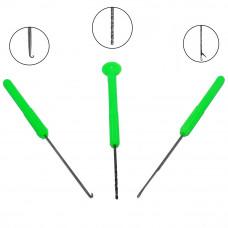 Набор инструментов Palomino Combo Set GZ-01 (3 в 1) пластик. зел. ручка