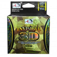 Леска зимняя Invisible 3D 30м