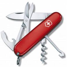 Нож перочинный Victorinox Compact (1.3405) 91мм 15функций красный карт.коробка